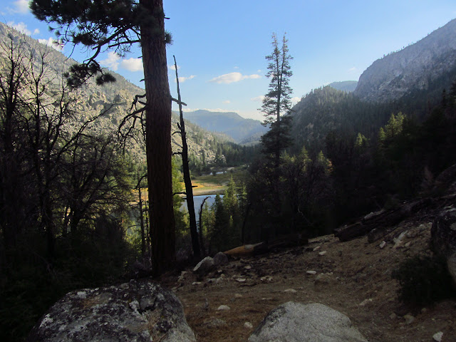 Little Kern Lake and the river flowing out