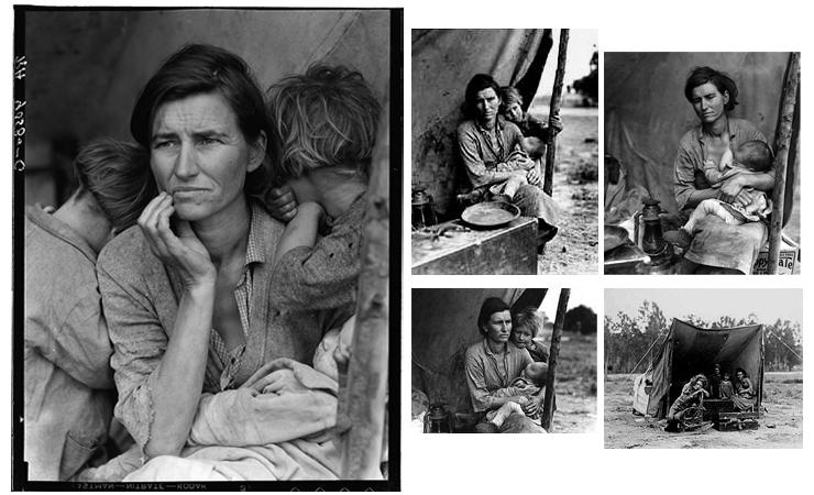 dorothea lange migrant mother essay
