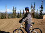 Jeff and the beautiful Colorado scenery