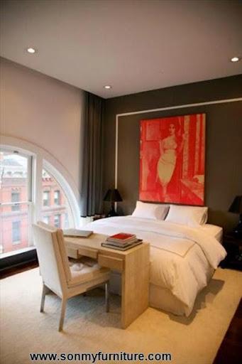 Mẫu thiết kế cho phòng ngủ vẫn đẹp trong nhà chật-1