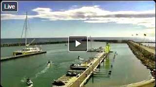 Port de Canet en Roussillon Webcam live