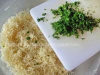 Salata de telina cu maioneza si marar preparare