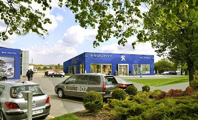 Salon Peugeot - Woj. Mazowieckie