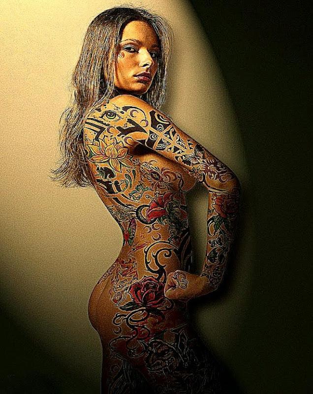 Подборка татуировок на все тело Flower Body Art Tattoos – tatyshka
