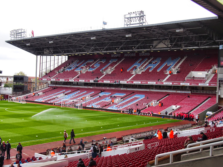 west ham stadium empty