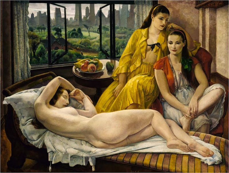 Leon Kroll - Summer, New York. 1931