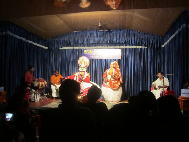 kathakali drama at Kumily