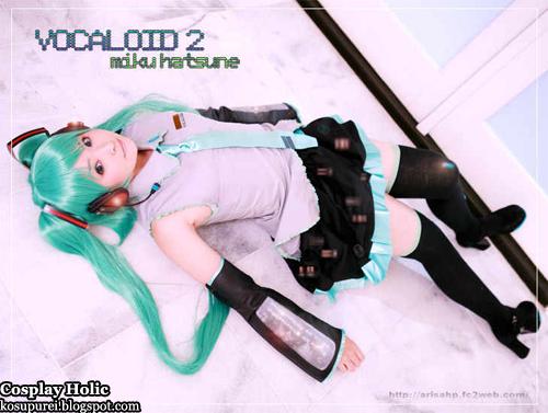vocaloid 2 cosplay - hatsune miku by arisa mizuhara