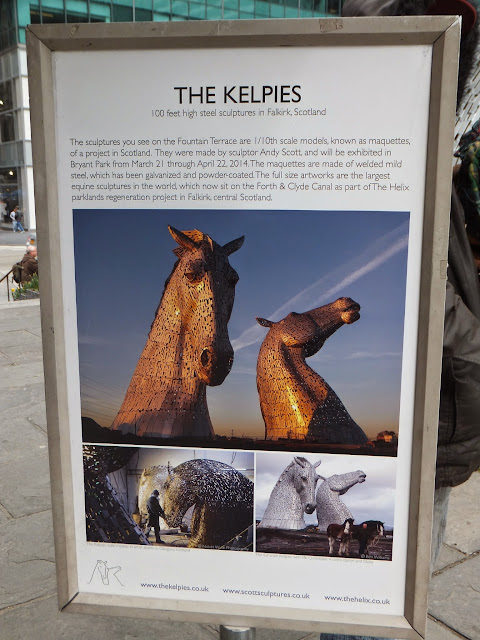 The Kelpies, Andy Scott, Bryant Park, New York, Elisa N, Blog de Viajes, Lifestyle, Travel