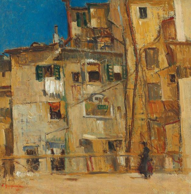 Lucian Grigorescu - Case din Via Ripetta