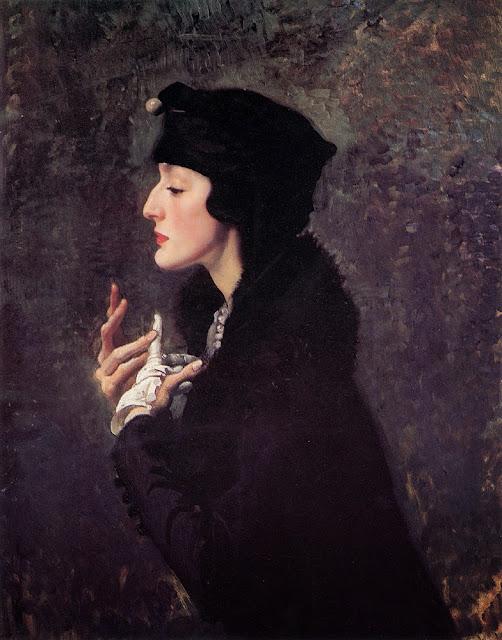 George Lambert - Miss Helene Beauclerk,1914