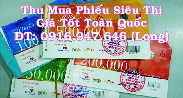 Hãy đến với thumuaphieusieuthi.com để dễ dàng thanh lý phiếu coopmart với số lượng lớn