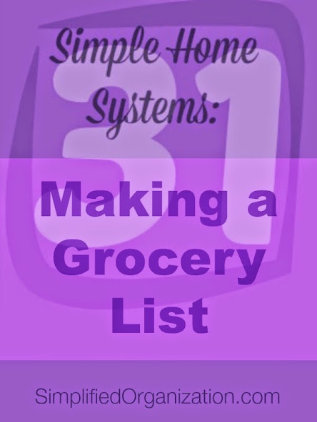 We know heading to the grocery store without a list or a plan is a recipe for overspending, but how can we make the process of making that grocery list less daunting and more simple?