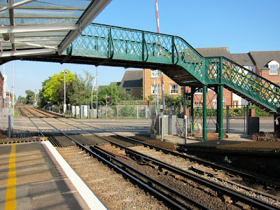 Chichester train station in England