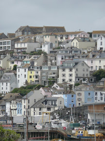 The colourful houses of Brixham