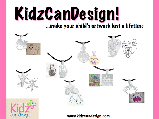 Turn Your Child's Artwork Into Custom Jewelry with KidzCanDesign