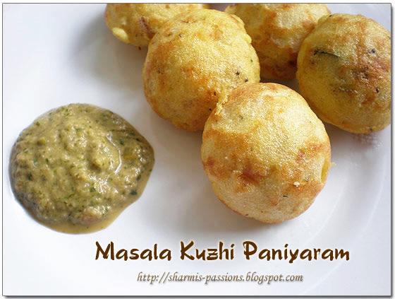 Masala Kuzhi Paniyaram