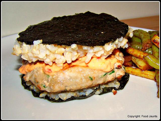 Tuna Sushi Burgers