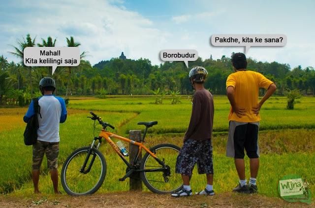 PEKOK keliling Borobudur