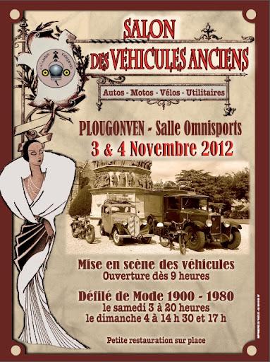Salon des Véhicules anciens - 3 et 4 novembre 2012 Affiche%25202012