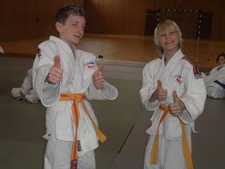 letztes Judotraining