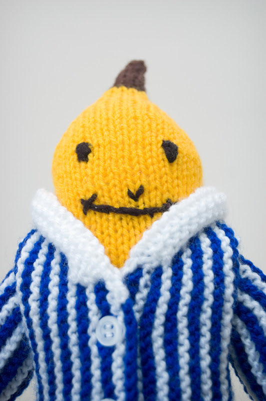 Portrait of a Banana (in Pyjamas)