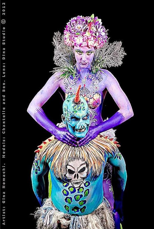 Juicy Body Art – Susanne Daoud   Melbourne  I Love Body Art