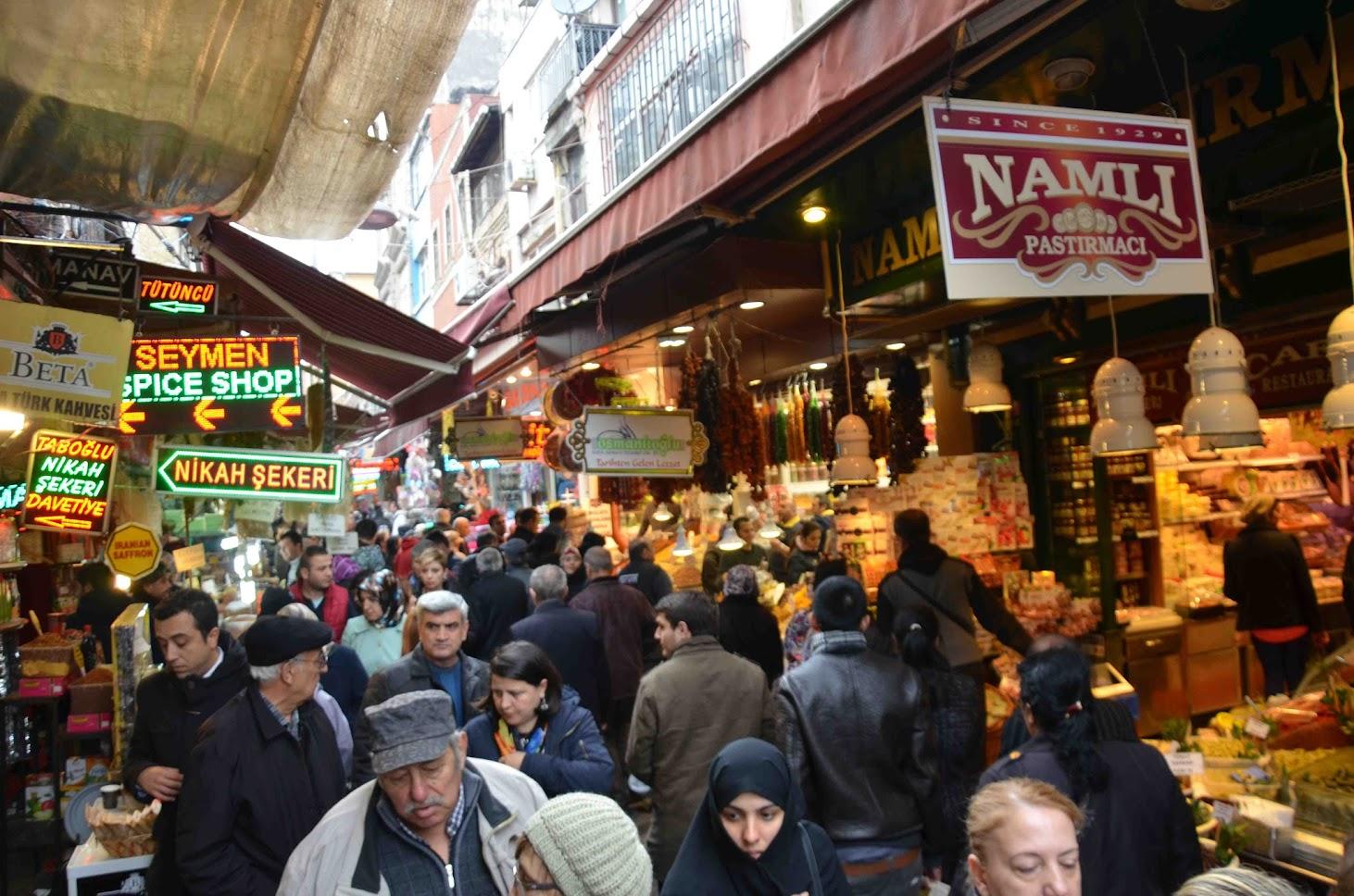 Callejuelas alrededor del Bazar de las Especias