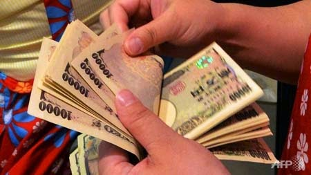 3,34 tỷ Yên tiền mặt thất lạc đã được người Tokyo trả lại trong năm 2014 (Ảnh: