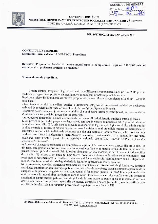 Lege iniţiată de Băişanu, desfiinţată de Ministerul Muncii şi asociaţiile profesionale