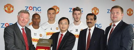 Manchester United Embark on Mission Pakistan with Zong