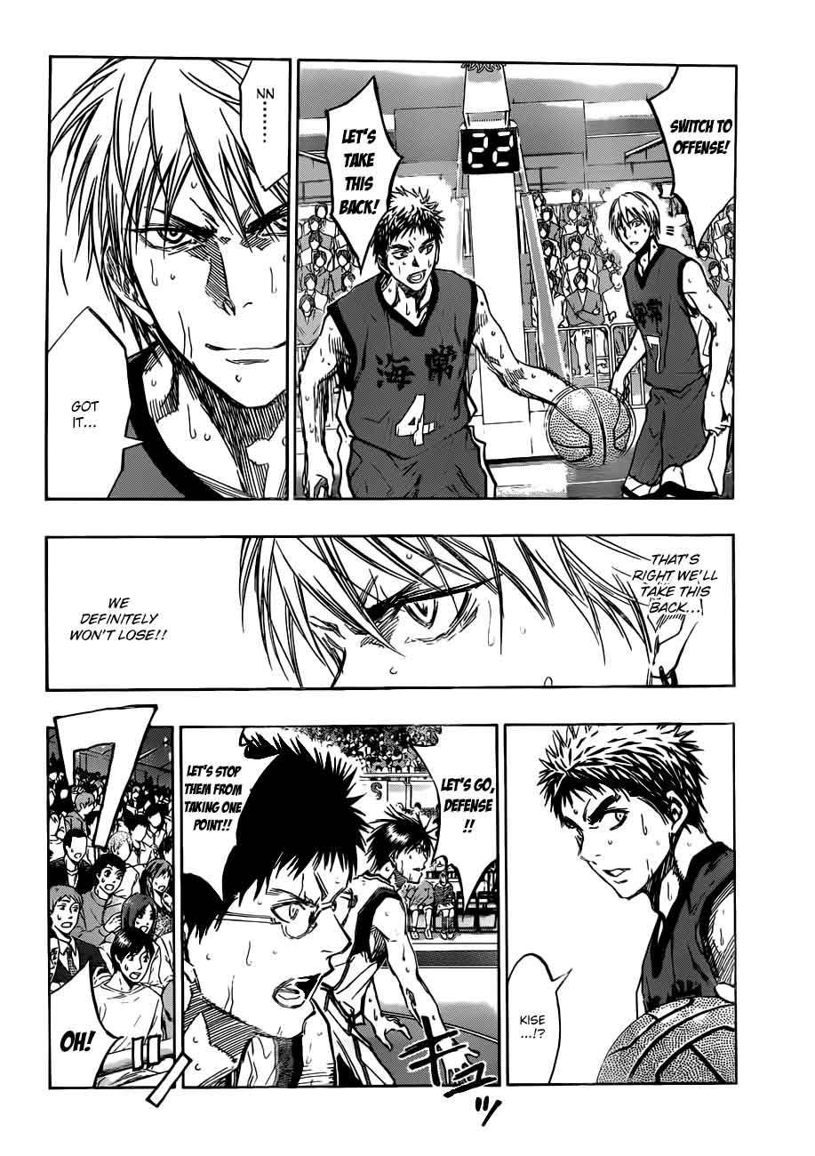 Kuroko no Basket Manga Chapter 190 - Image 04