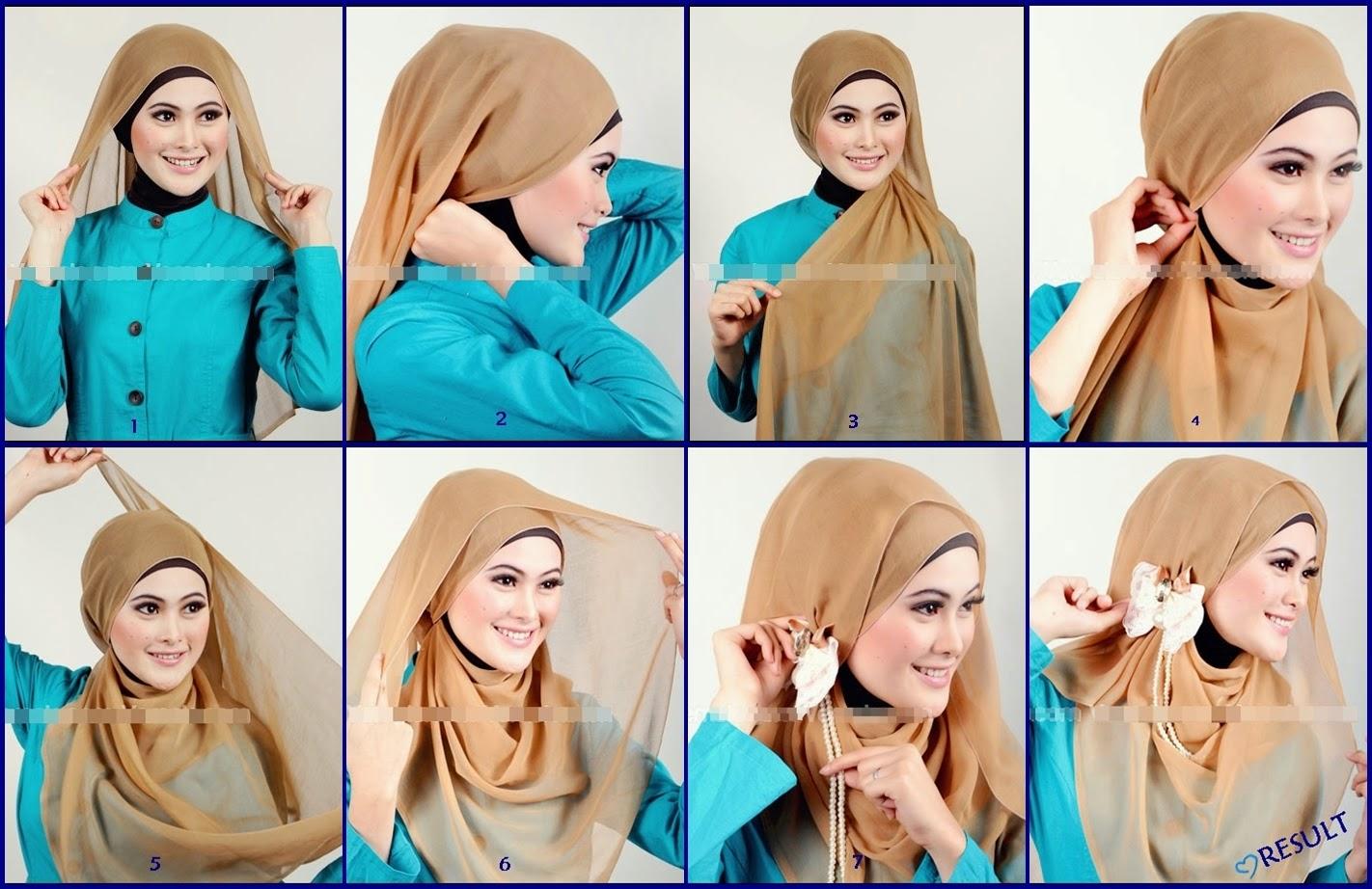 Jilbab-Segi-Empat-Untuk-Pesta-cara-memakai-jilbab-segi-empat-untuk-ke ...