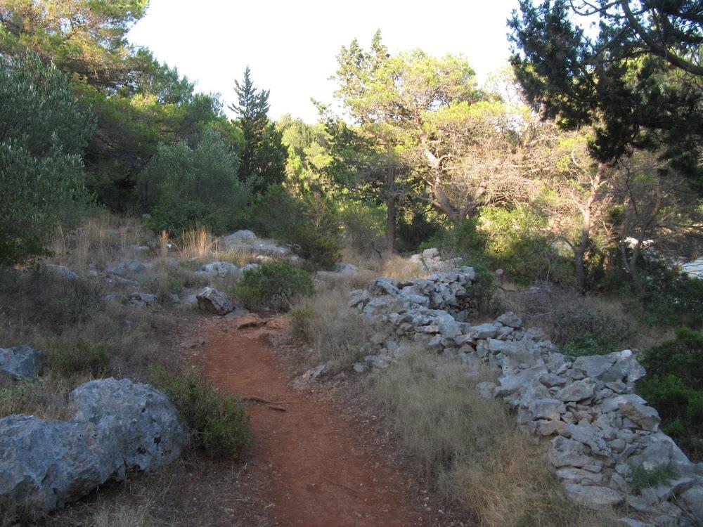 Hiking Trail on Hvar