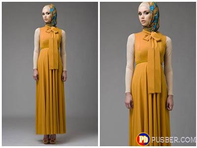 Model Dress Muslimah Terbaru Nuansa Vintage