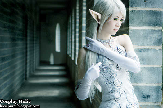 lineage 2 cosplay - elf by king crimson