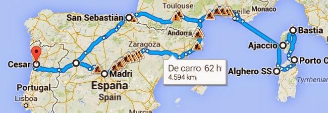 Os Comarriscos vão à Córsega e Sardenha!!! Total