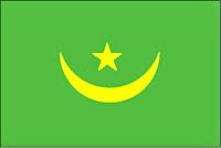 εθνική σημαία Μαριτανίας, national flag Maritanias.