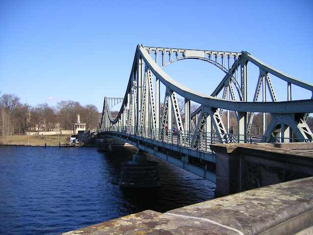 WW II bridge where spys were exchanged