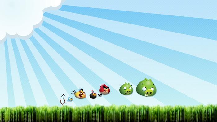 Hình nền về những chú chim điên trong Angry Birds - Ảnh 13