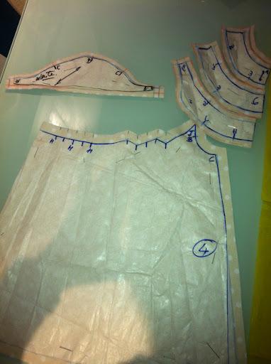 Hilvanes y costuras primer pasito patrones y cortar la tela - Patrones espejito espejito ...