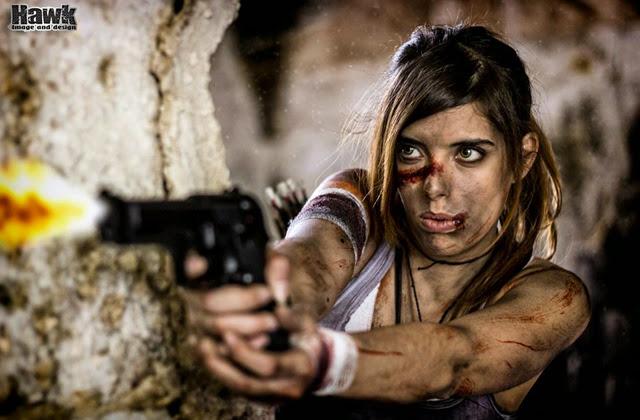 "Cosplay Lara Croft ""chất lừ"" của Larxenne - Ảnh 15"