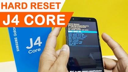 Hướng dẫn Hard Reset Samsung Galaxy J4 Core
