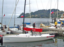 J/70 one-design speedster- sailing Chile