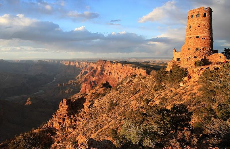 Гранд Каньон - Башня Desert View