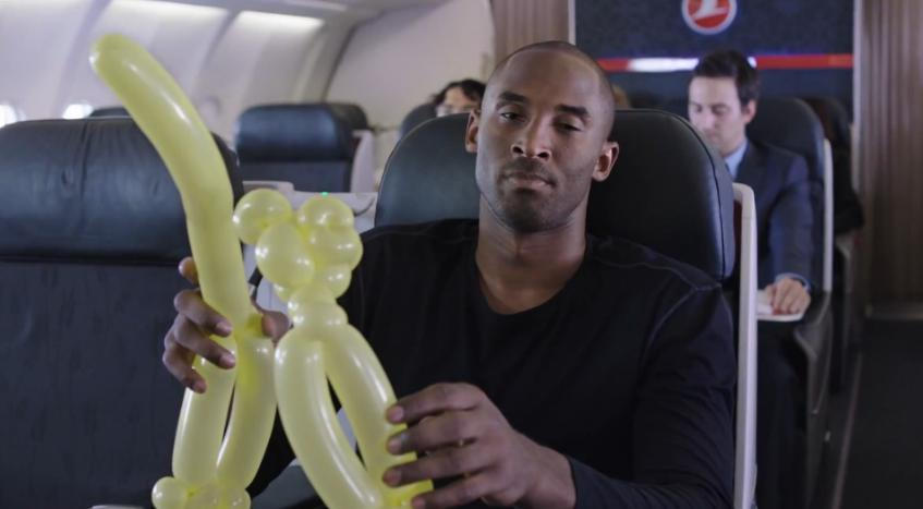 Kobe Bryant Battles Lionel Messi In A New Ad For Turkish Airlines