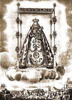 1871 - Virgen de la Cabeza Litrografia