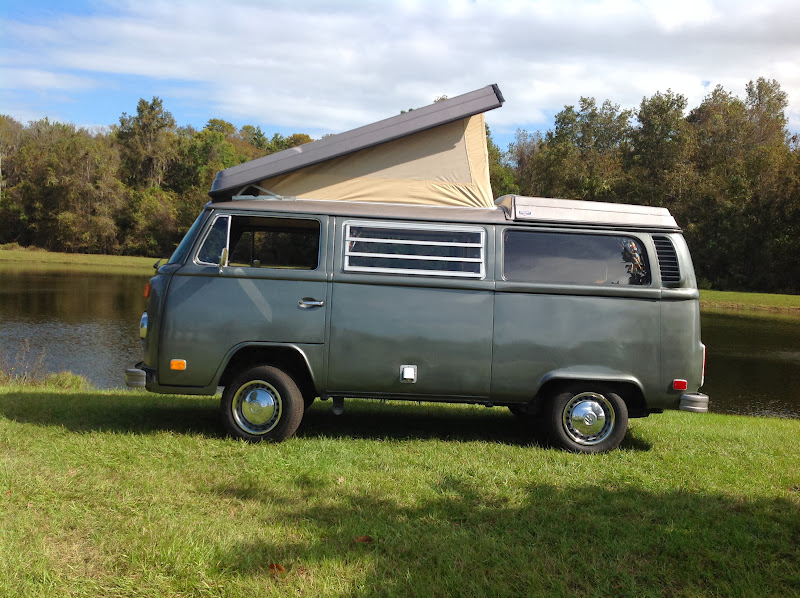 Sell Used 73 Vw Bus Camper Westfalia Campmobile Westy