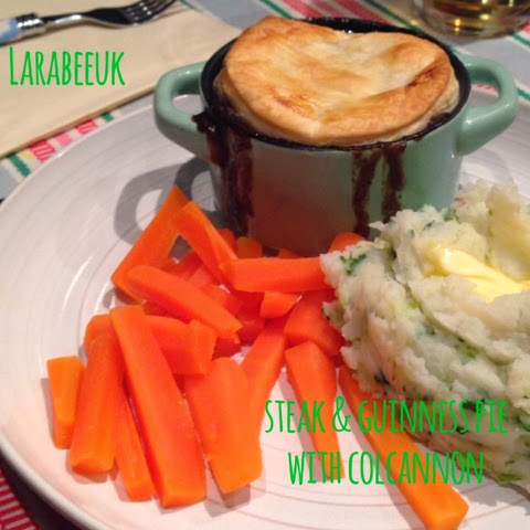 |COOK|steak & guinness pie with colcannon (happy St ...