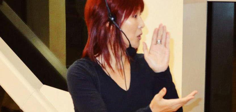 Kazumi Teaching Salsa @ CSUF
